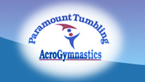 Paramount Tumbling and Acro Gymnastics Logo